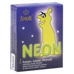 Kondom, selvlysende neon