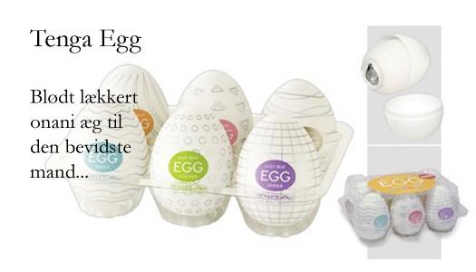 Tenga egg - onani æg til manden der bare virker